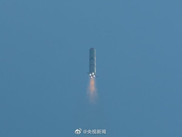 CHINA LAUNCHES THREE MILITARY SATELLITES