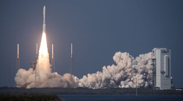 ULA'S ATLAS 5 LAUNCHES AEHF-6 COMMUNICATIONS SATELLITE IN ITS FIRST MISSION FOR U.S. SPACE FORCE