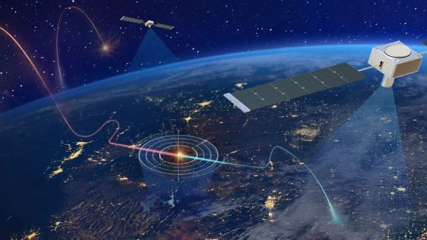 THESE EIGHT SATELLITES WILL TRACK HYPERSONIC WEAPONS