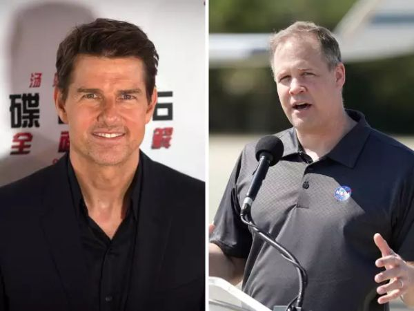 NASA CHIEF WANTS TO INSPIRE THE NEXT GENERATION WITH TOM CRUISE'S FILM ON SPACE STATION