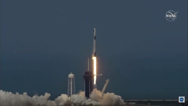 LIFTOFF! SPACEX LAUNCHES 1ST ASTRONAUTS FOR NASA ON HISTORIC TEST FLIGHT