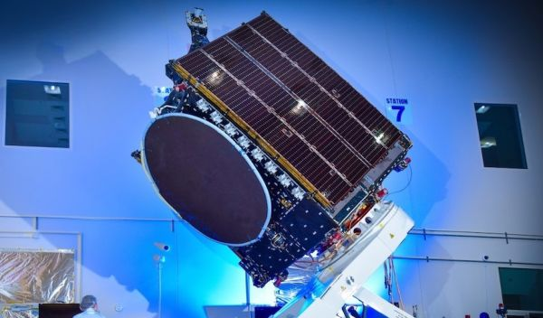 THREE U.S.-BUILT SATELLITES IN FRENCH GUIANA FOR ARIANE 5 LAUNCH