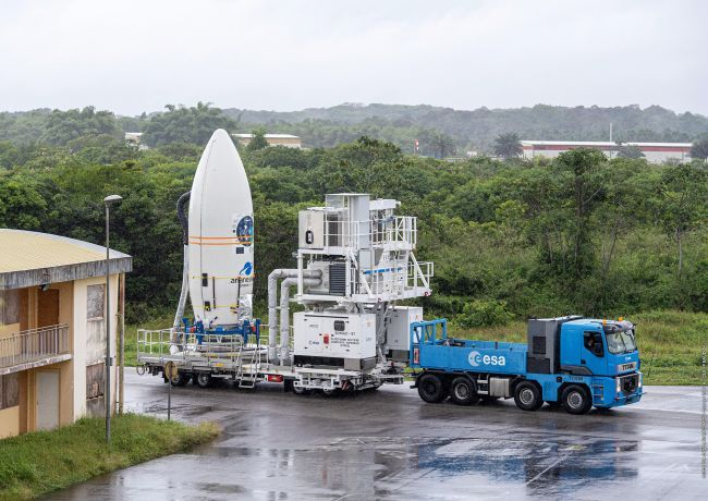 VEGA ROCKET'S 53-SATELLITE LAUNCH DELAYED TO AUGUST