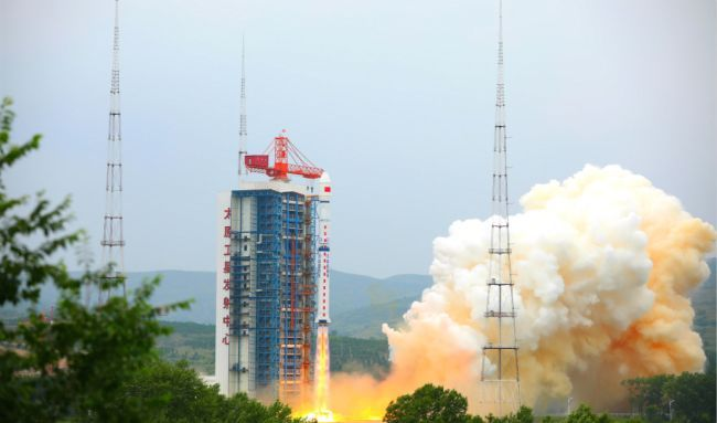 CHINA LAUNCHES 3 SATELLITES INTO ORBIT, INCLUDING A 'LOBSTER-EYE' TO HUNT DARK MATTER