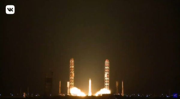PROTON LAUNCHES TWO RUSSIAN COMMUNICATIONS SATELLITES