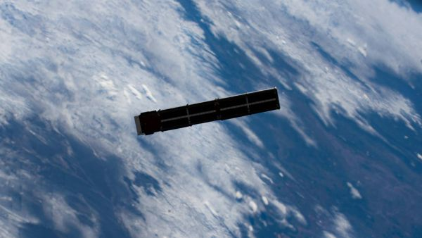 TECHEDSAT-10 DEPLOYS FROM THE SPACE STATION