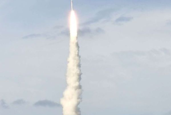CHINA LAUNCHES 9 SATELLITES INTO SPACE FROM OCEAN PLATFORM