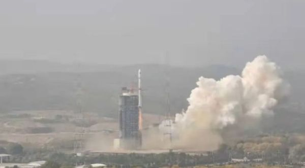 SECRETIVE CHINESE LAUNCH SENDS TWO REMOTE SENSING SATELLITES INTO ORBIT