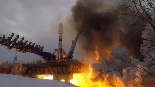 RUSSIA LAUNCHES SOYUZ WITH NEXT-GENERATION NAVIGATION SATELLITE