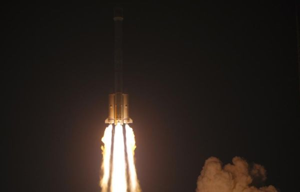 CHINA LAUNCHES MOBILE TELECOM SATELLITE