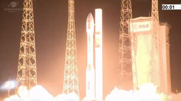 VEGA ANOMALY DURING LAUNCH OF EUROPEAN EARTH OBSERVATION SATELLITES