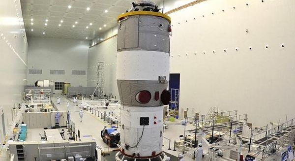 CHINA TO BEGIN CONSTRUCTION OF ITS SPACE STATION NEXT YEAR