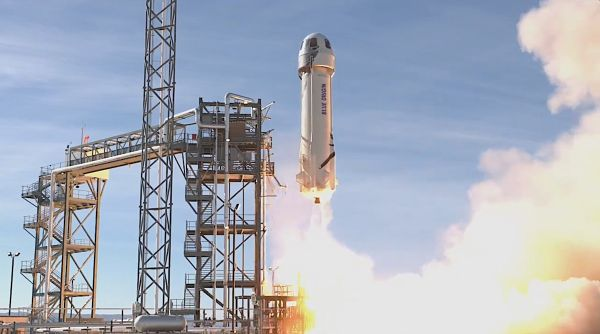 BLUE ORIGIN TESTS PASSENGER ACCOMMODATIONS ON SUBORBITAL LAUNCH
