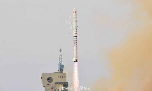 LONG MARCH 4C LAUNCHES LATEST BATCH OF YAOGAN- 31 SATELLITES