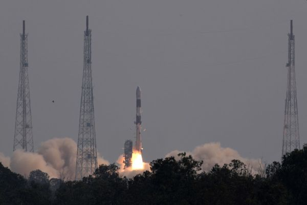 INDIAN ROCKET LAUNCHES BRAZILIAN SATELLITE TO TRACK AMAZON DEFORESTATION