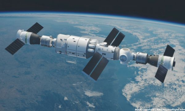 CHINA PREPARING TO BUILD TIANGONG STATION IN 2021, COMPLETE BY 2022