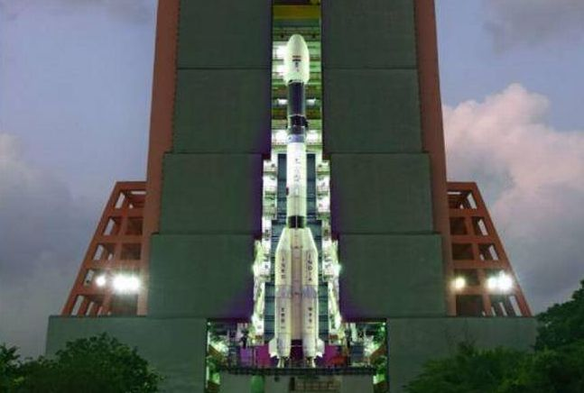 SATELLITE SET FOR MARCH 28 LAUNCH WILL HELP INDIA KEEP AN EYE ON BORDERS NEAR REAL-TIME