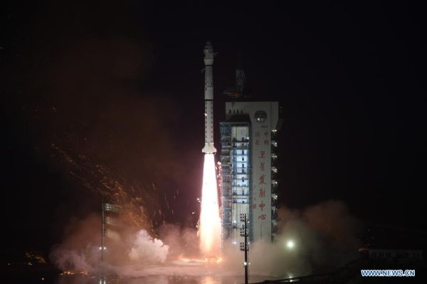 CHINA LAUNCHES GAOFEN EARTH OBSERVATION SATELLITE