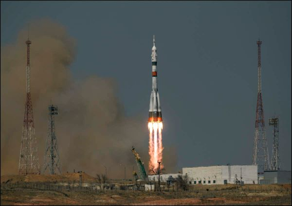 SOYUZ CREW WELCOMED ABOARD INTERNATIONAL SPACE STATION