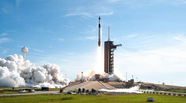 SPACEX CARGO LAUNCH TO SPACE STATION SET FOR JUNE 3 FROM LAUNCH COMPLEX 39A AT KENNEDY SPACE CENTER