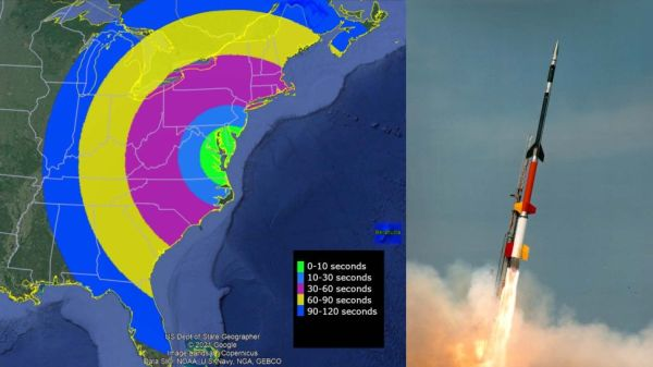 WATCH LIVE TUESDAY: NASA SOUNDING ROCKET LAUNCH TO MAKE COLORFUL CLOUD SHOW OVER EASTERN US