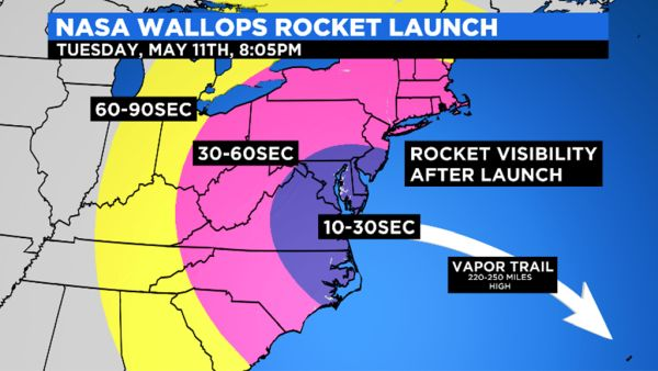 NASA WALLOPS ROCKET LAUNCH POSTPONED AGAIN